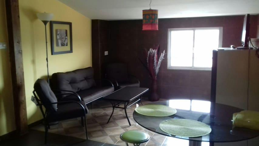 Apto.reformado centrico, muebles y colchonesnuevos - Tarazona - Apartment
