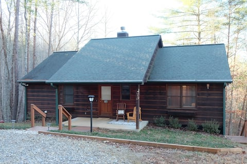 Cozy Cabin in North GA Mountains