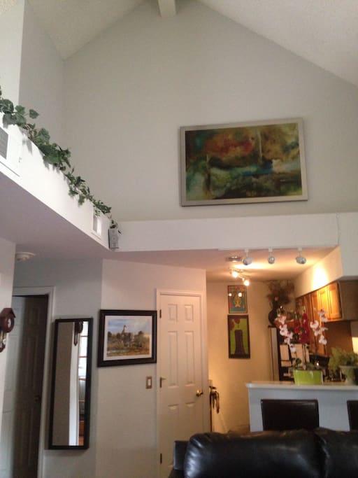 Living Room | Kitchen
