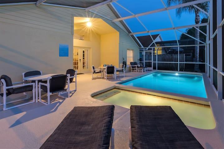 Location + Privacy!  Villa w/ South-facing pool! - Kissimmee - Villa