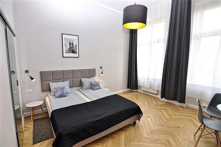 Komfortowy apartament tylko 7 minut do Rynku