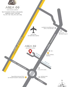 AREA 69 (Don Muang Airport Maison) - Apartment