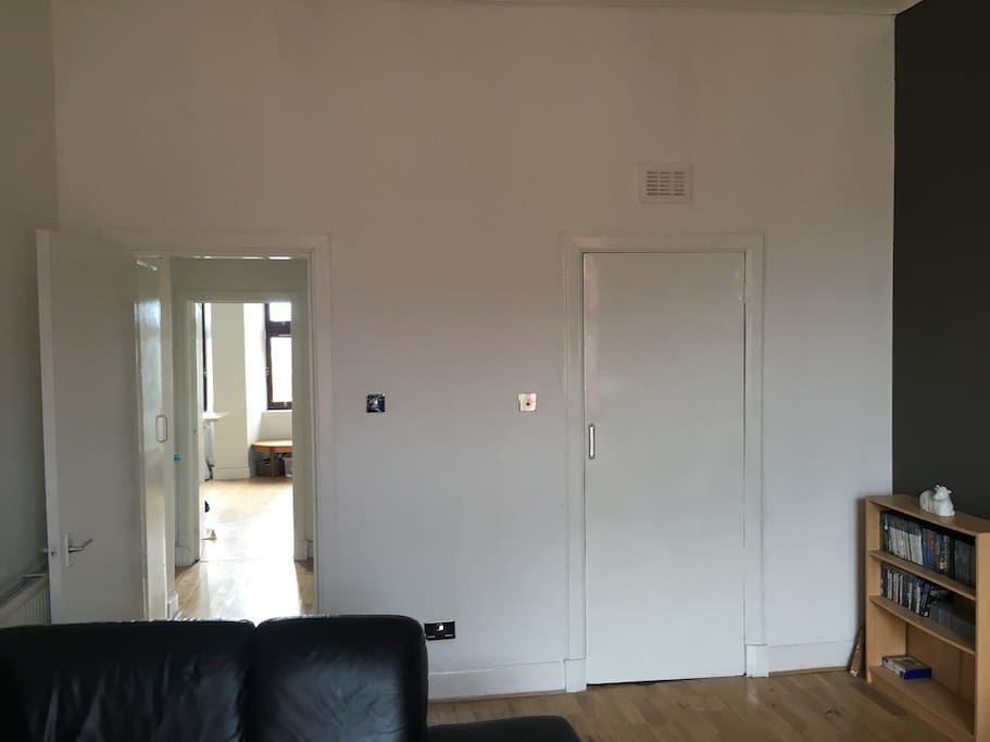Available bedroom with walk in wardrobe