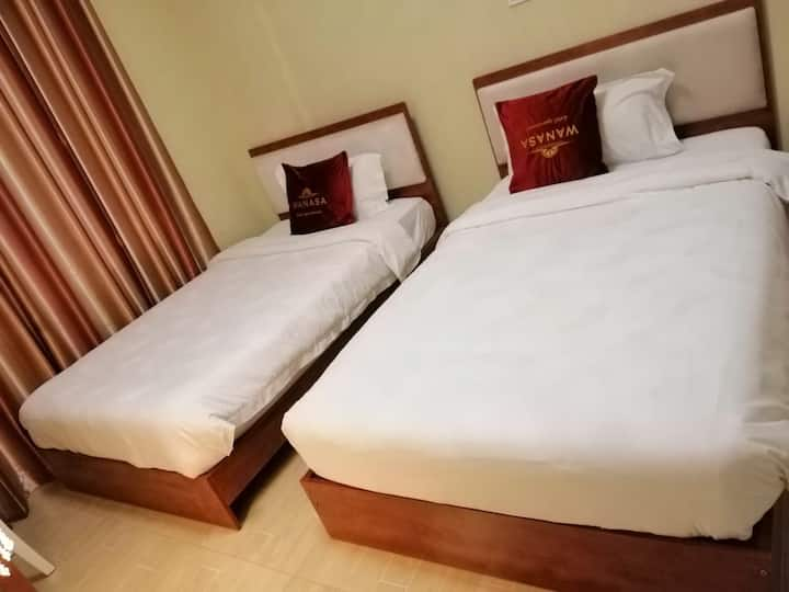 One Bedroom   Twin Bed Apartment
