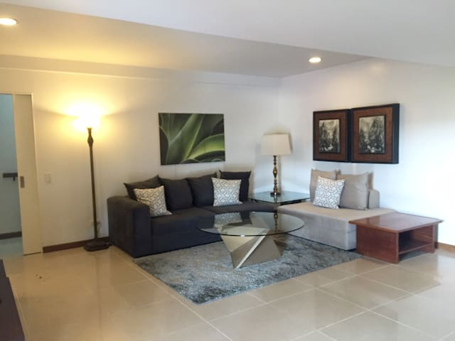 2 BR, 8-10 guests/100sqm/fiber wifi - Cebu City - Rumah