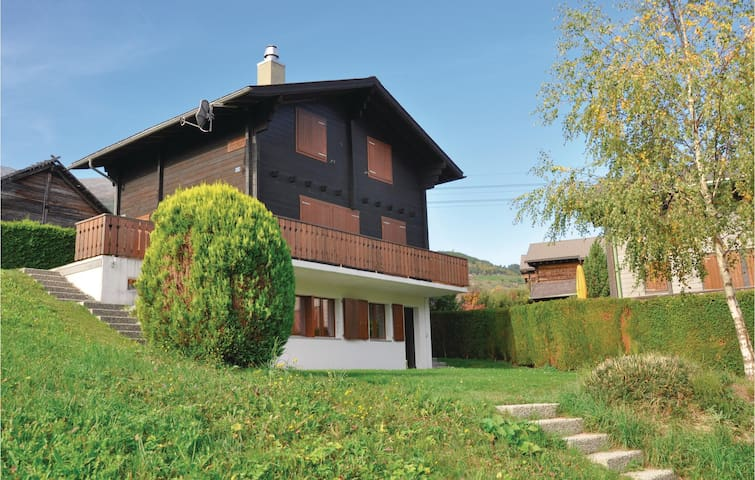 Holiday apartment with 1 bedroom on 40 m² in Unterbäch