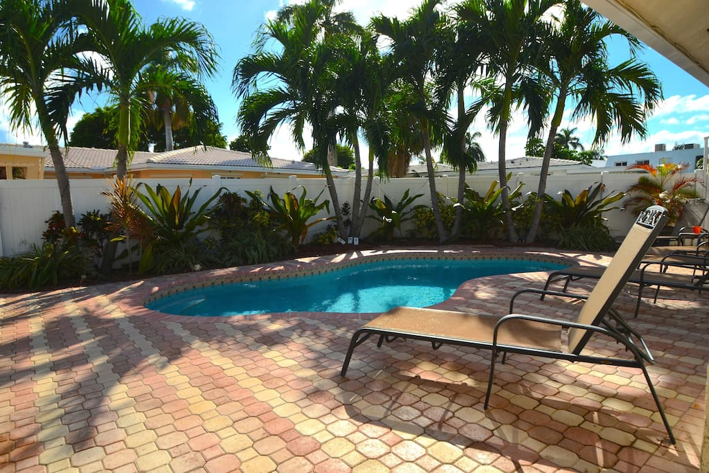 Breathtaking (Private) Heated Pool Lounge Offers Absolute Relaxation...