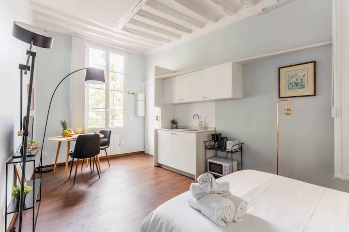 Studio in Le Marais–Steps from Chatelet Les Halles