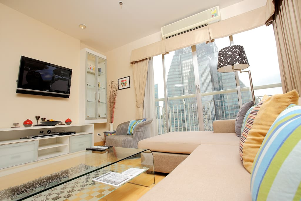 Central Bangkok 3 Bedroom Apartment - Apartments for Rent ...
