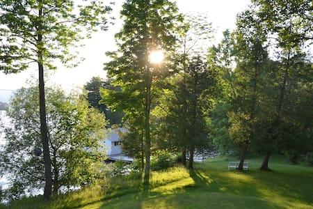 Cottage, Memphremagog lake, Ogden - Ogden - Hus