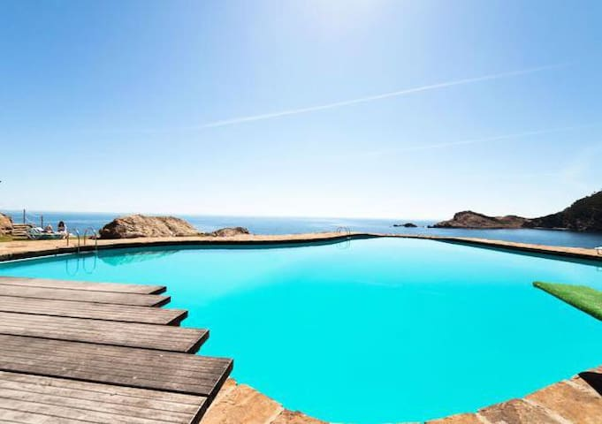 Dream Cap Sa Sal -Apart. with sea views in Begur