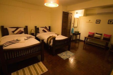 Twin bed with breakfast chiang mai - Chiang Mai