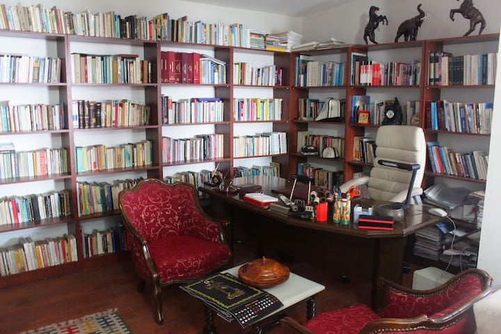 Climbers House - library
