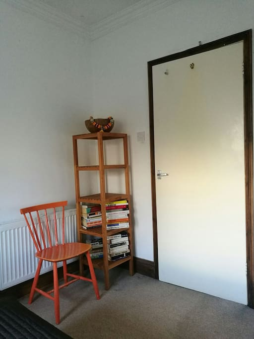 entrance to the bedroom