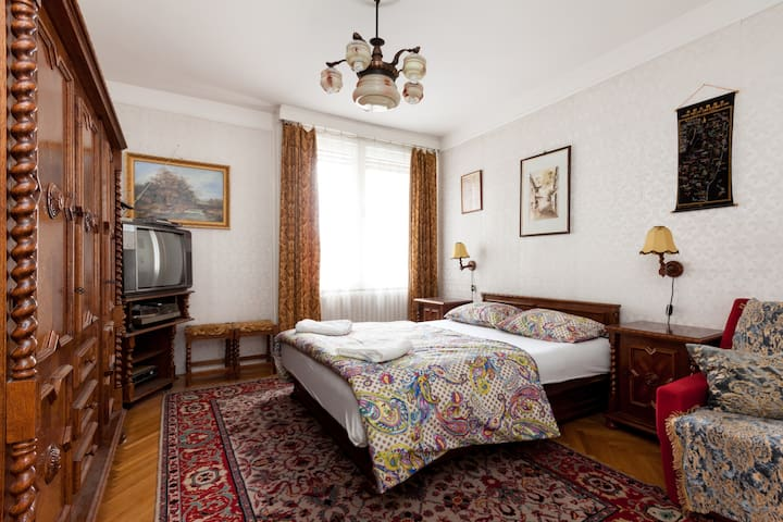 Chainbridge Room with Castle View - Budapest - Lägenhet