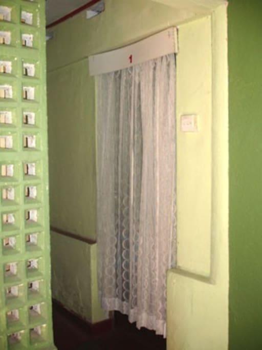 Entrance to Room No.1