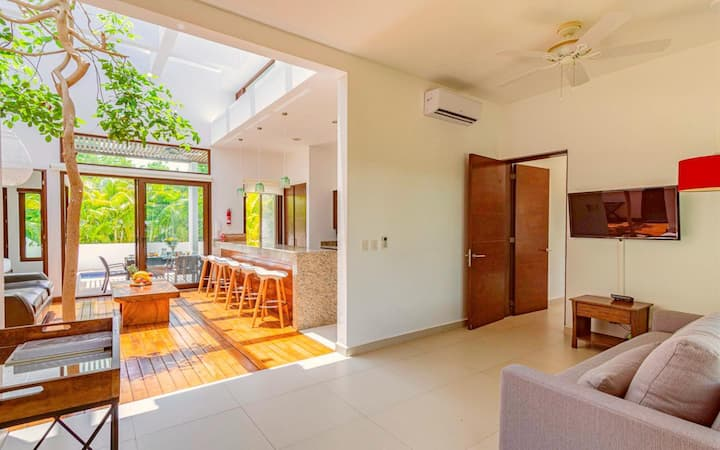 Your Stellar Sanctuary Townhome - Private Pool, Yoga & Beach Resort Access