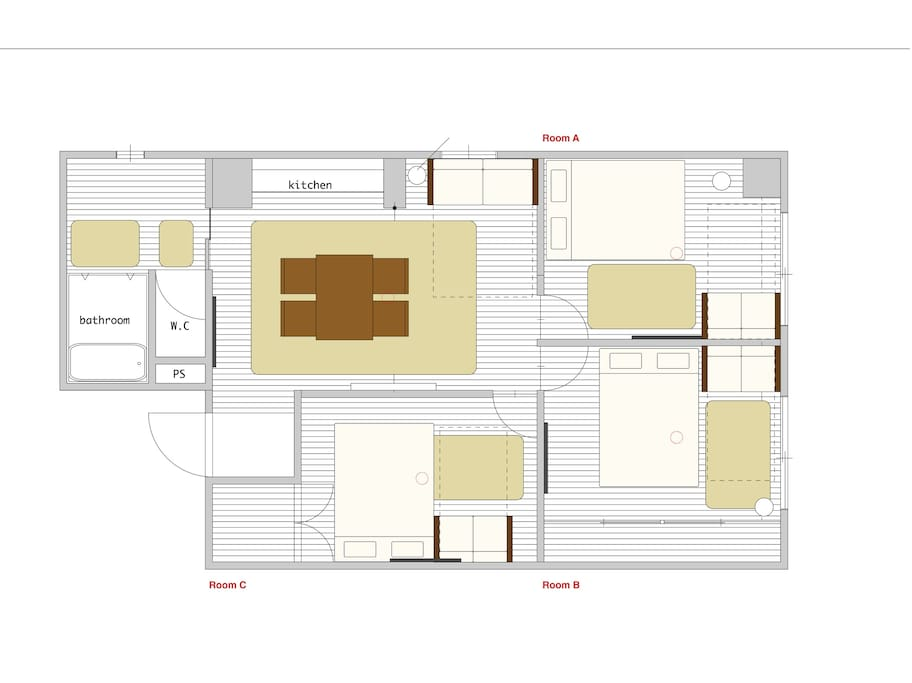 Floorplan/フロアマップ