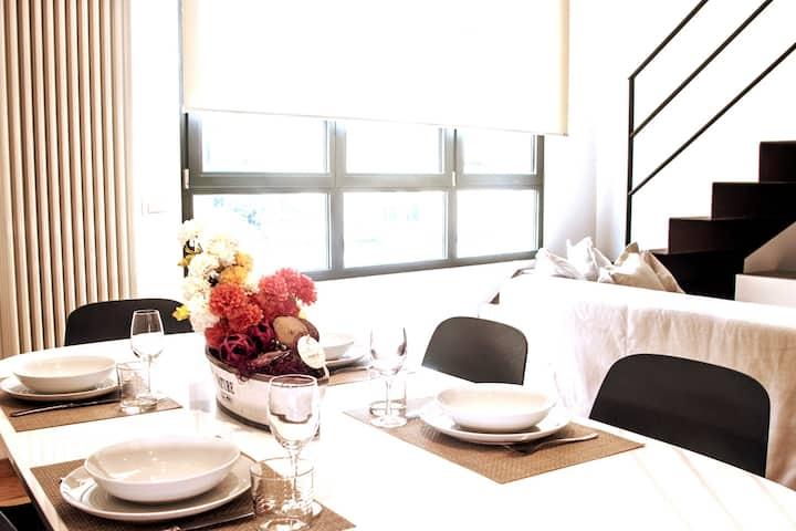 Milano Navigli Duplex Serviced Apartment 3pax-Wifi
