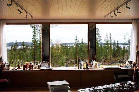 Hillside studio, Marjarinne - Inari