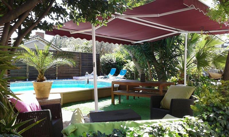 Villa avec piscine en centre Hyères - Hyères - Hus