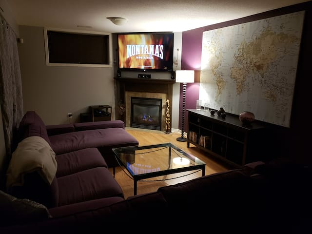 Home away from home - private basement guest suite