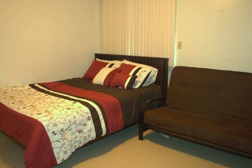 Brand New Queen Sized Bed and a Sofa Bed!