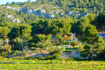 Mas Garrigue Vue imprenable Ventoux - Saint-Hippolyte-le-Graveyron - Дом