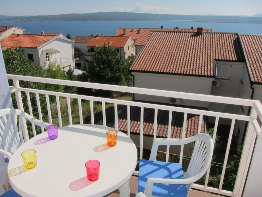 Terace with beautiful sea view