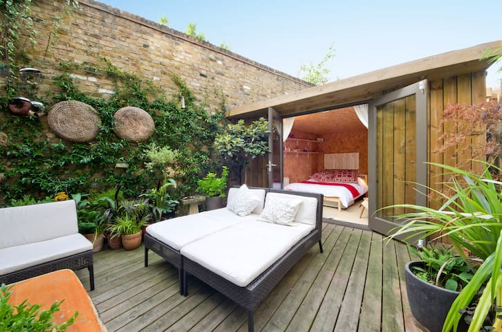 Stylish Garden Cabin in Camden - Londres - Chalé