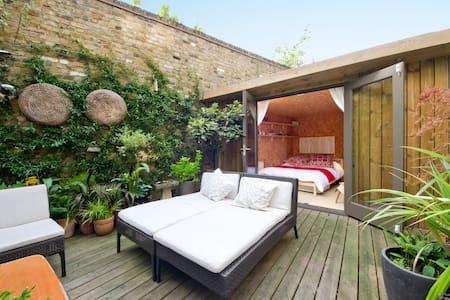 Stylish Garden Cabin in Camden - London - Alpehytte