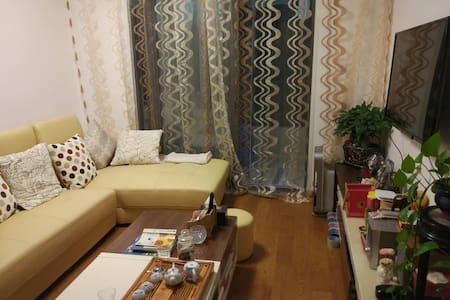 近地铁的温馨之家(精装修,全配,西式风格,双人床,限女生) - Apartment