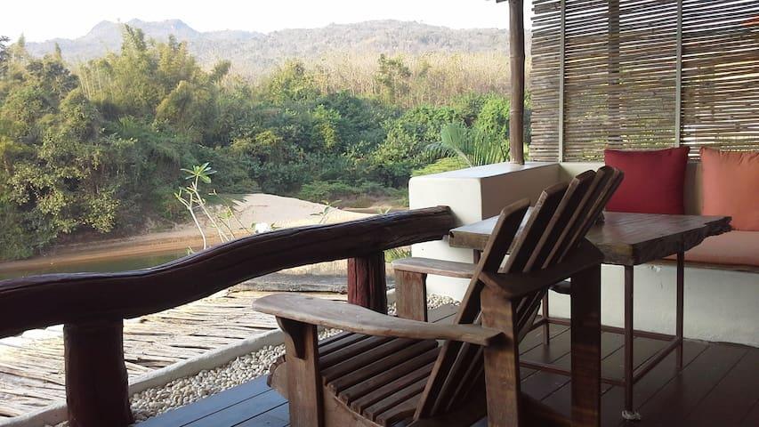 V1 (58sq.m) - Big Balcony by the River Kwai.