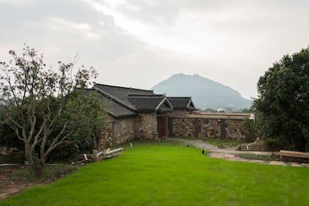 小筑沐野后现代独立温泉房 - Wuxi - Dom