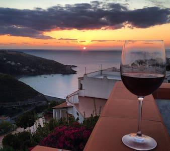 Beautiful apartments with panoramic views - San Nicola Arcella - Huoneisto