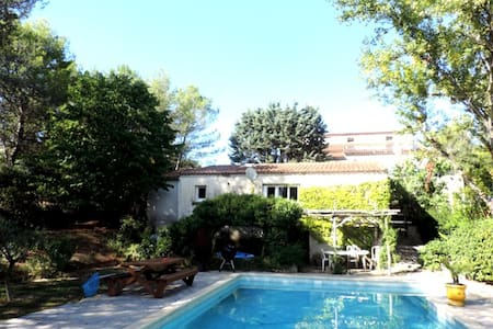 House for rent in the countryside - Le Triadou - Casa