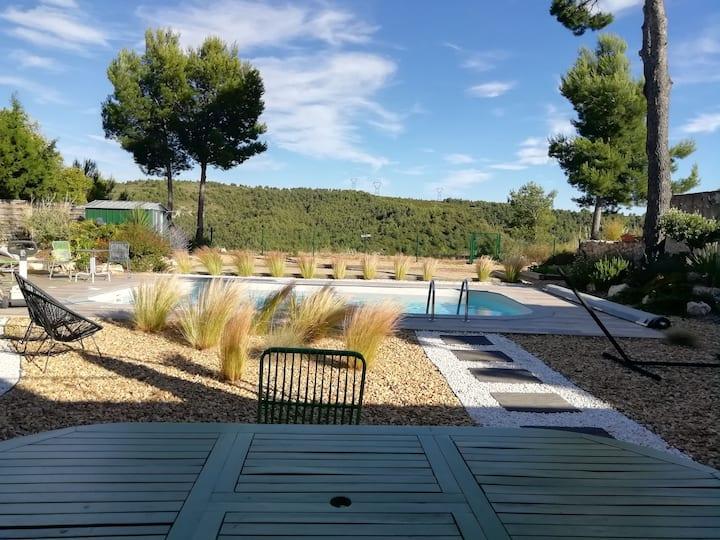 Maison particulière piscine privée