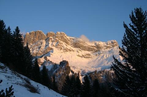 wintersport Alpe des Chaux