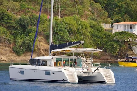Sumaya Sol Sailing 42' Catamaran in the Caribbean - Saint George's