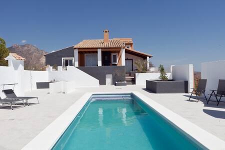 Mountain top panorama villa - Busot