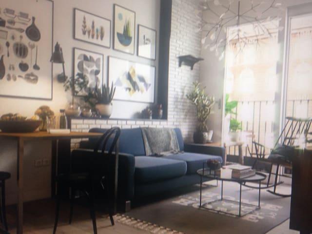 Nordic style room - Vega de Valdetronco - Apartamento