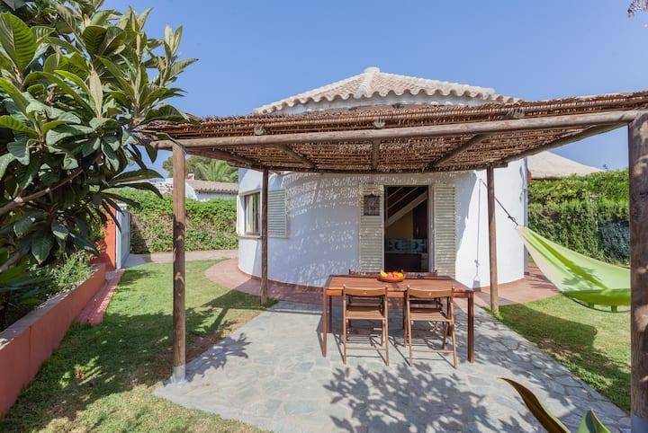 Circular House in Zahora Beach