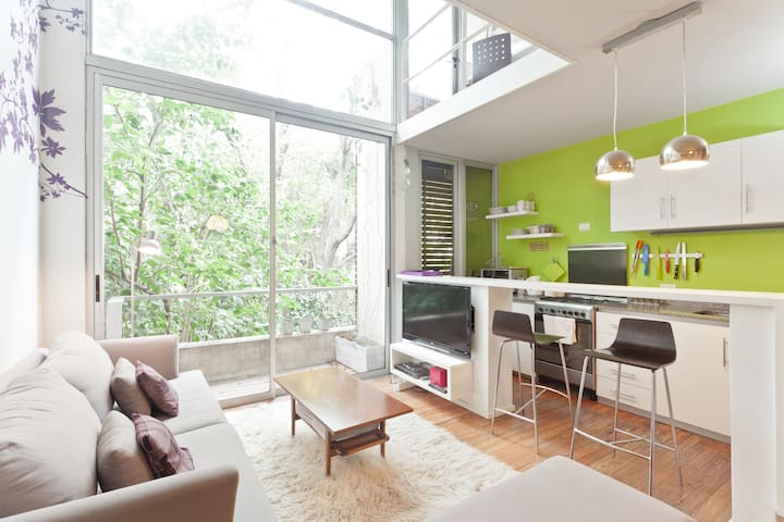 Moderno duplex con vista 100% verde - San Isidro - Apartment