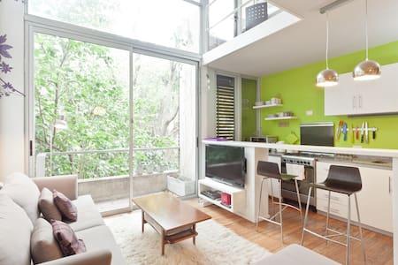 Moderno duplex con vista 100% verde - Appartement