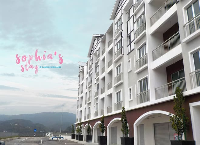 Sophia's Stay @ Cameron Highlands - Tanah Rata - Appartement
