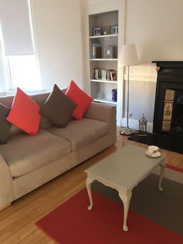 Charming Victorian Flat nr Glasgow - Coatbridge - Lägenhet