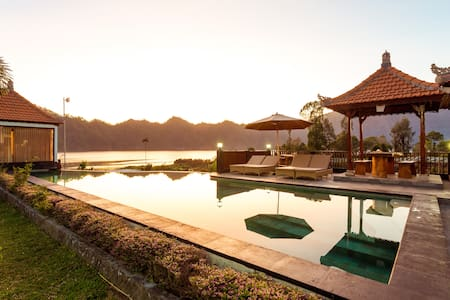 #2 Gorgeous Lake Front Villa at Kintamani Area