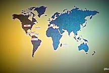 Where in the world have you been?