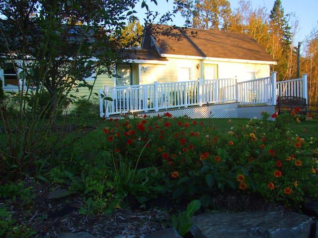 Flower Cottage, Machias Maine