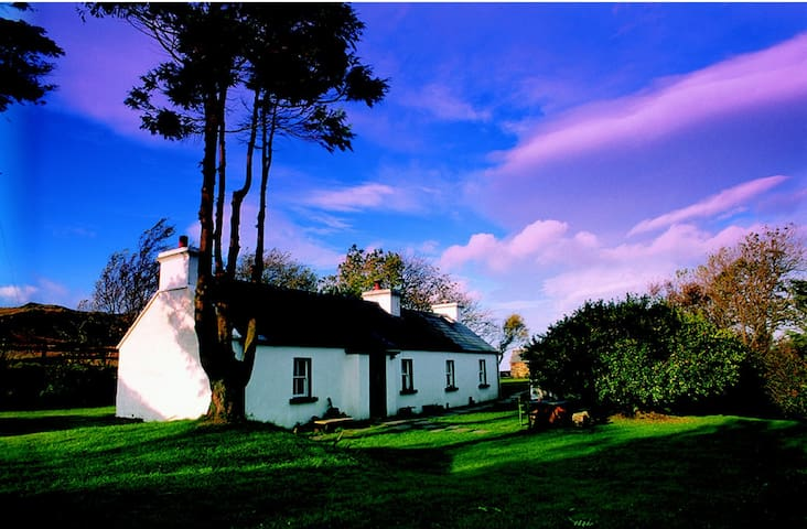 Traditional radiant Irish cottage